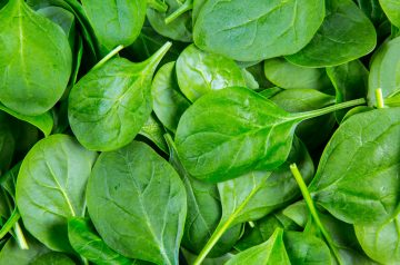 Baby Spinach Salad With Peanut Dressing