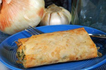 Spinach Pie or Spanakopita