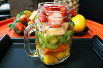 Spirited Fruit Salad