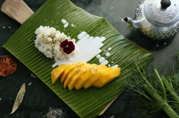 Sticky Rice with Mango and Lime