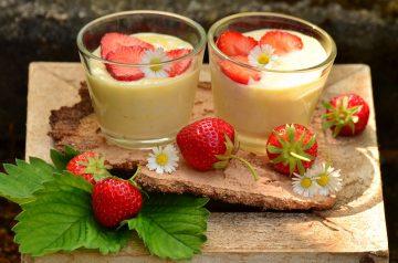 Fluffy Fruit Dessert