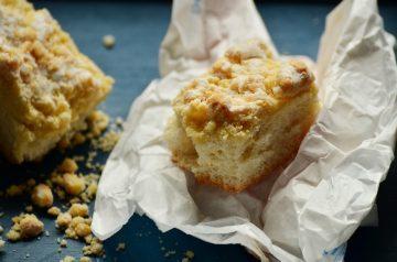 Cranberry Lemon Crumb Cake