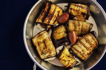 Stuffed Eggplant (Aubergine)