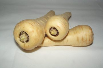 Sweet and Gooey Parsnips