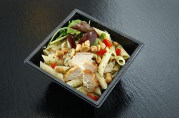 Leftover Chicken Pasta Salad