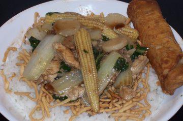 Tender Chinese Broccoli (Gai Lan)