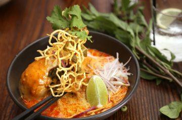 Hot  and Cold Thai  Sesame Noodle Salad