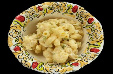 The Worlds Best Macaroni and Cheese Salad