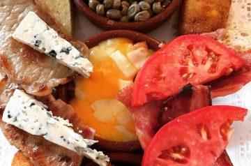 Tomato and Basil Frittata