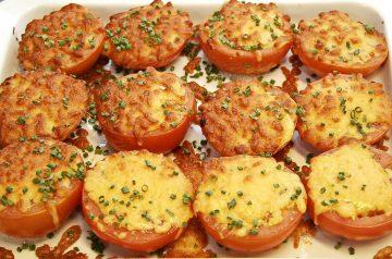 Baked Onions Au Gratin