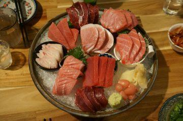 Open-Faced Tuna and Artichoke Melt