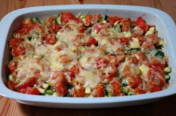 Vegetable and Chicken Casserole!