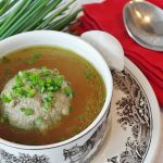 Vegetable and Ground Beef Soup