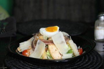 Warm Cherry Tomato Salad