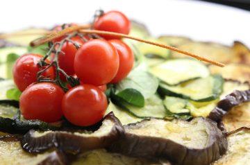 Warm Salad of Zucchini and Tomato