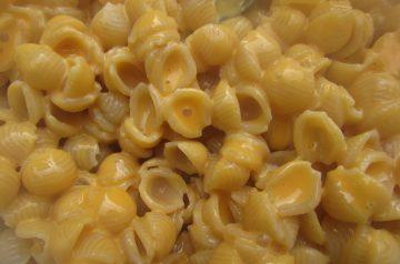 White Cheddar and Macaroni