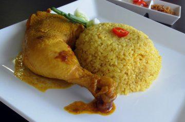 Yakni Pilau (Chicken Rice)