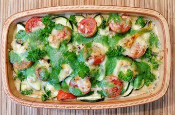 Zucchini Gratin (goat Cheese)