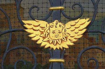 Golden Angel Cake