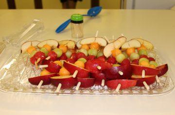 Hawaiian Fruit Kabobs