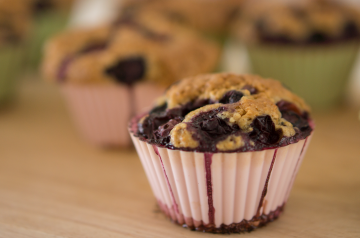 Special Banana Blueberry Muffins