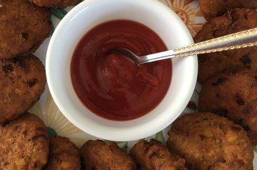 Sweet Potato Fritters - Ntomo Krakro