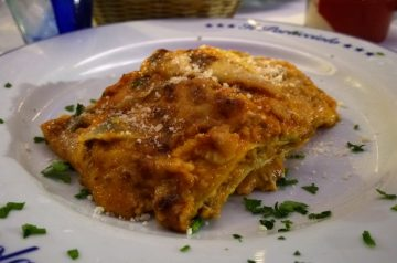 Venison Lasagne (Or Beef)