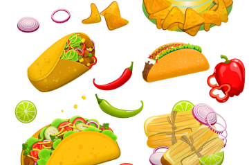 Mexican Palapa Snacks