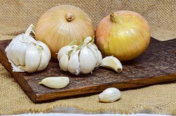 Garlic and Onion Burgers