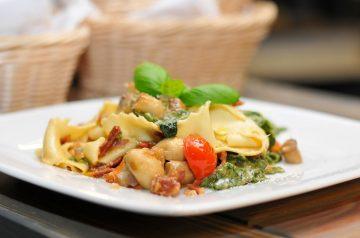 Summer Pasta With Corn