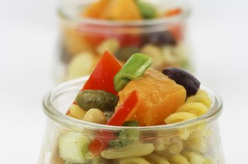 Pasta Twist Salad With Olives