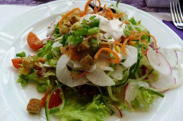 Cactus Paddle Salad (Nopales Salad)
