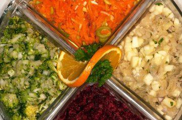 Carrot Salad Roll Ups