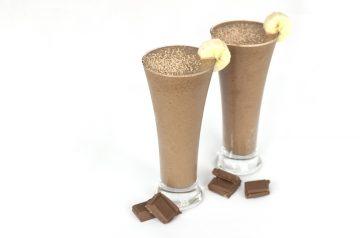Chocolate Soy Banana Smoothie