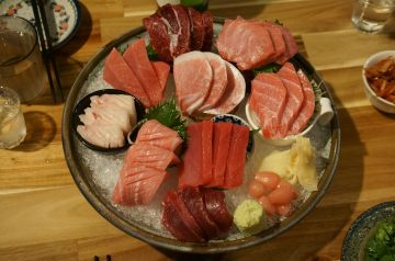 Ginger-Marinated Tuna Steaks